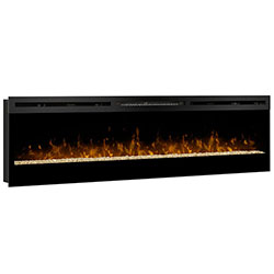 "74"" Galveston Linear Electric Fireplace - Dimplex"