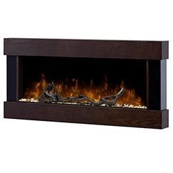 "36"" Chalet Linear Electric Fireplace And Surround - Dimplex"