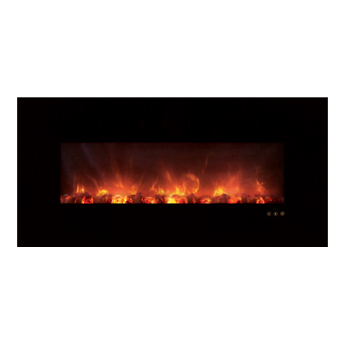 how to clean electric fireplace glass