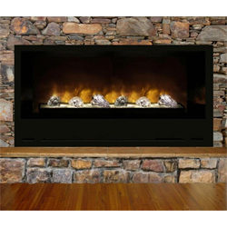 "60"" Home Fire Custom Electric FIreplace - Modern Flames"