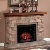Electric electric fireplaces and mantels for Electric fireplace motor noise